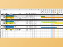 手軽にガントチャートを作成できる無料Excelテンプレート「Simple Gantt」