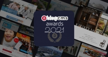a-blog cms awards 2021の特設サイトのカバー写真Cover photo of the special site for a-blog cms awards 2021
